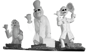 Hitchhiking Ghosts Clear Cut by WDWParksGal-Stock