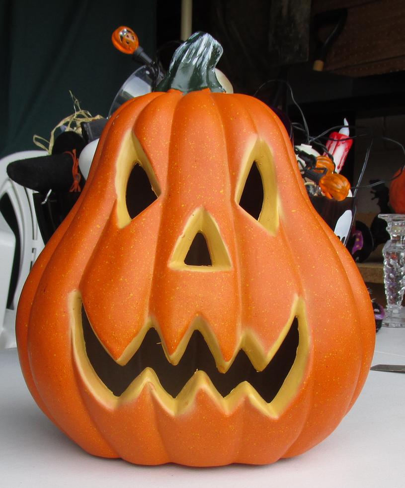 Pumpkin Jack O Lantern IMG 2155 by WDWParksGal-Stock