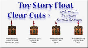 Toy Soldier Float Cut-Outs