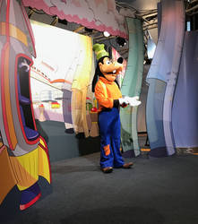 Goofy on Set IMG 2534 by WDWParksGal-Stock