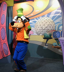 Goofy on Set IMG 2517 by WDWParksGal-Stock