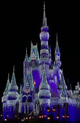 Purple Icicle Castle IMG 5055 by WDWParksGal-Stock