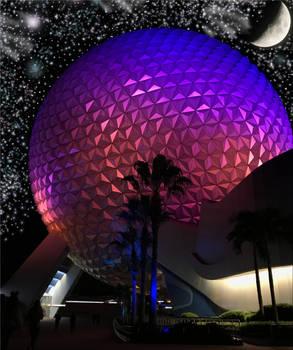 A Spaceship Earth Under the StarsIMG 4758