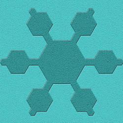 Floor Tile Teal Mosaic