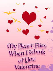 Hearts in the Air Valentine
