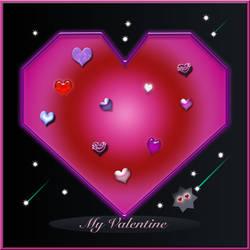 Valentine in DA Space