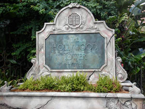 Sign Hollywood Tower of Terror by WDWParksGal-Stock