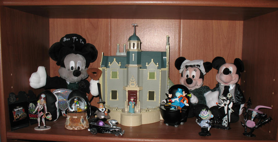Haunted Mansion Shelf 1 by WDWParksGal-Stock