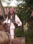 Jack Sparrow on Set MK WDW 2