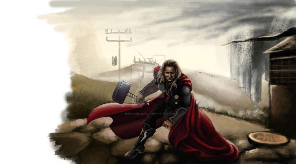 Bat-Thor-Loki by TheUglyBlowfly