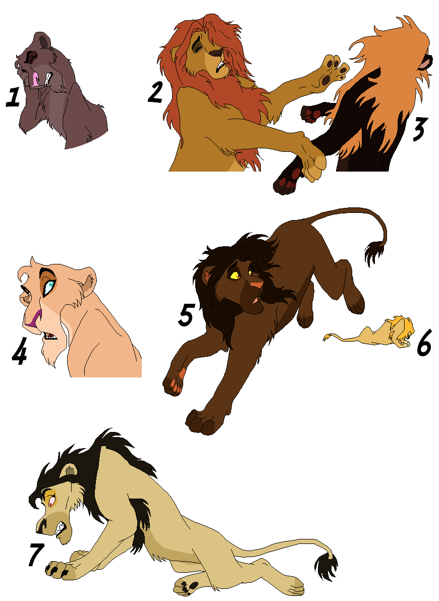One point adoptables 4 - CLOSED - by Soufroma