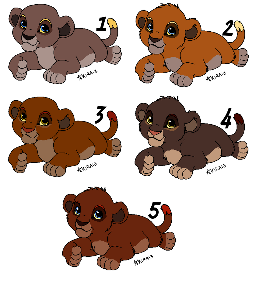 Cubs from B and G - OPEN - by Soufroma