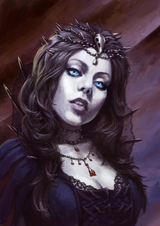 Vampiress by Lubial on DeviantArt