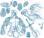 Fable fan art doodles