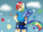 Rainbow Dash collab
