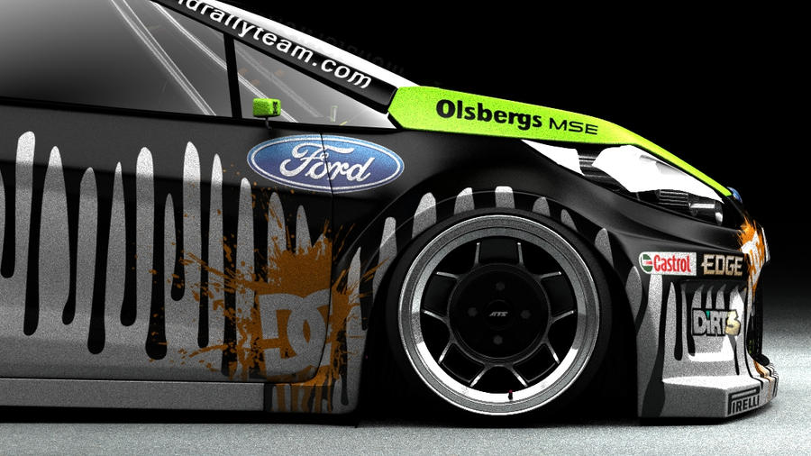 Hd wallpaper ken block - Ken Block Ford Fiesta By Darkstryder360 On Deviantart