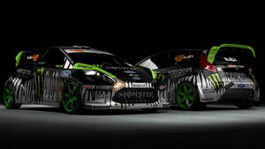 Ken Block Ford Fiesta Gymkhana by DarkStryder360