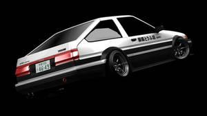 Toyota Trueno AE86 initial-D