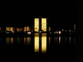 Night reflection by duggiehoo
