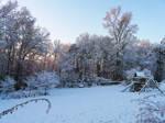 Sunrise.....snow