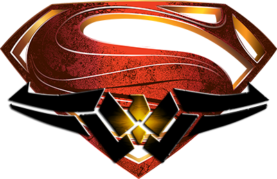 man of steel and wonder woman symbol png by mayantimegod