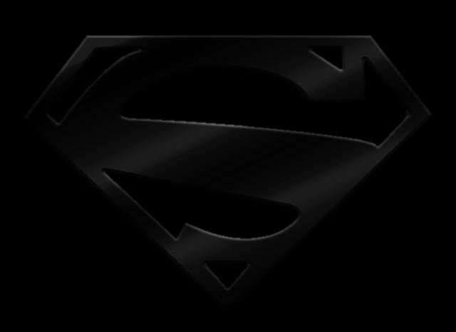 black superman symbol by MayanTimeGod on DeviantArt