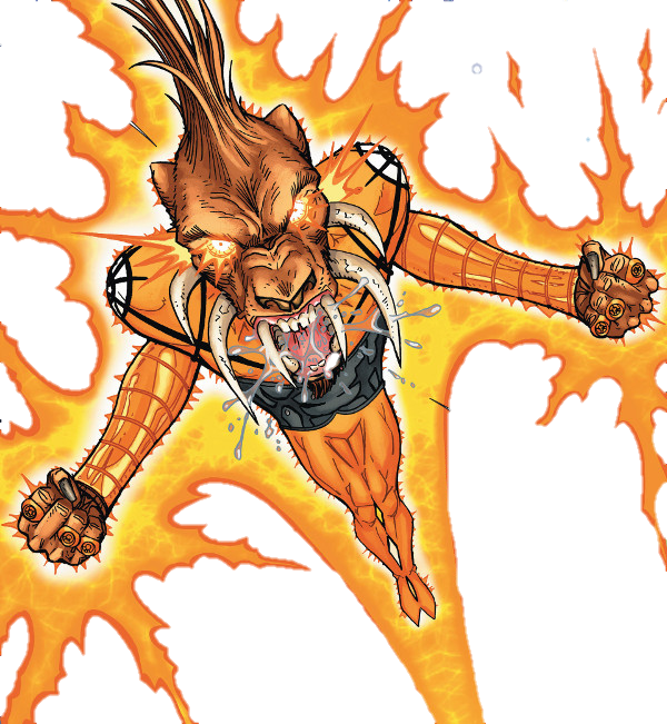 New 52 larfleeze!!! by MayanTimeGod