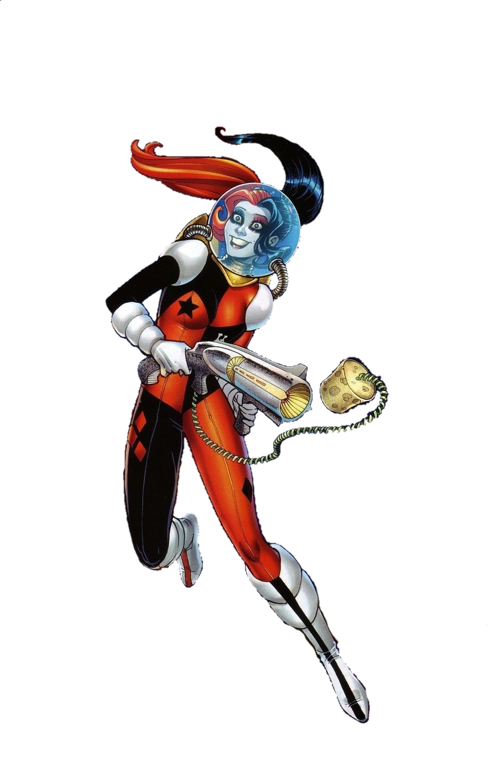 New 52 harley quinn in space by MayanTimeGod on DeviantArt