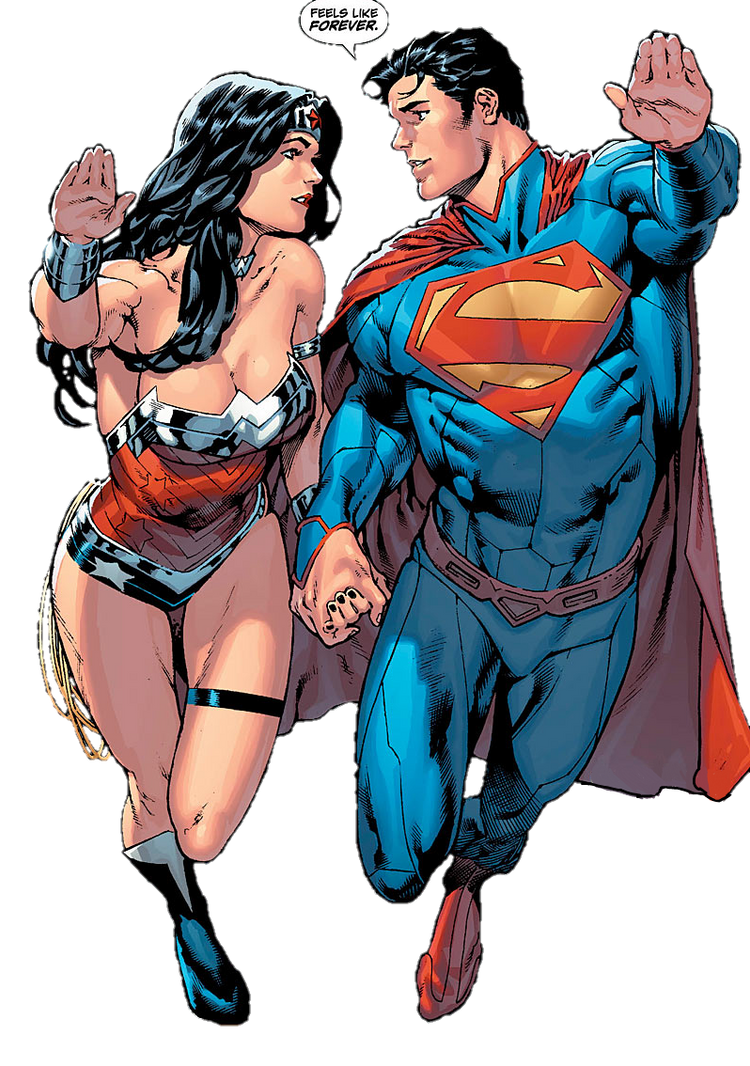 superman and wonder woman new 52 relationship poems