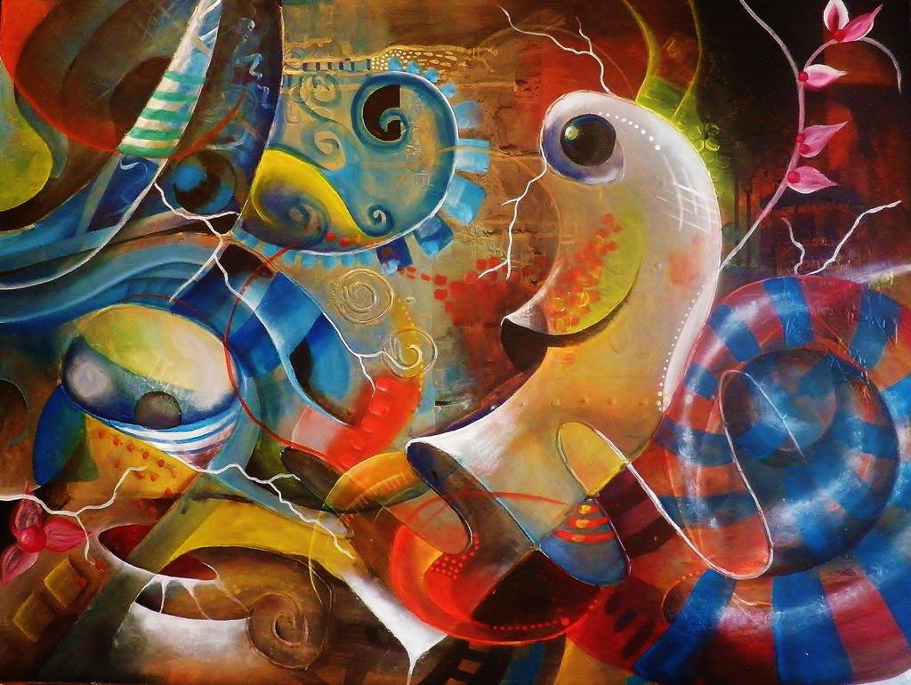 Merry snail by Ana-Lesac