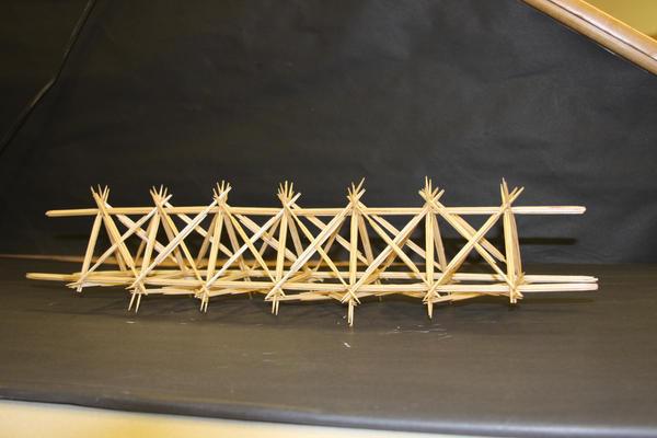 Toothpick Bridge By Psychohippie On Deviantart