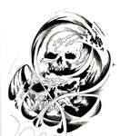 skull by Warr3