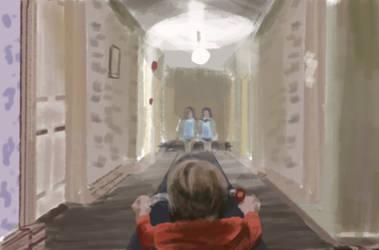 Shining twins studie by Warr3