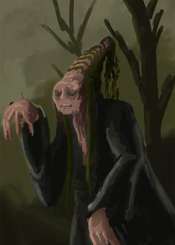Speedpaint old creature by Warr3