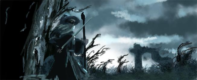 Hobbitstudie by Warr3
