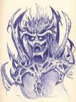 Demon by Warr3