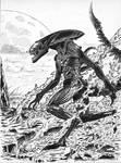 Alien by Warr3