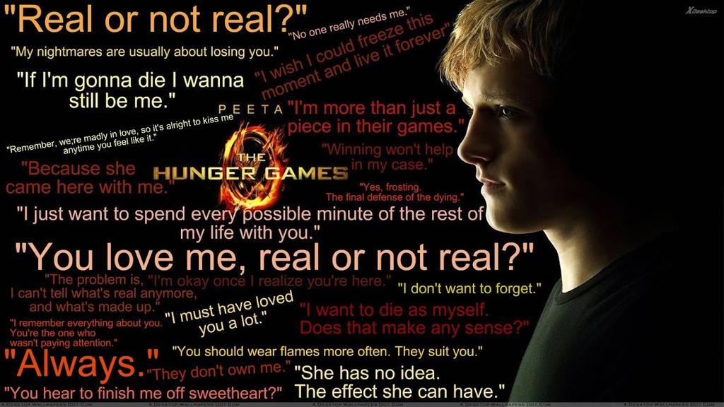 Hunger Games Quotes Peeta. QuotesGram - 126.8KB