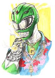 Green Ranger gangsta