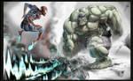 Hulk 'n' Spidey...