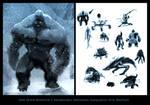 1 hour monster 5 bigfoot by joverine