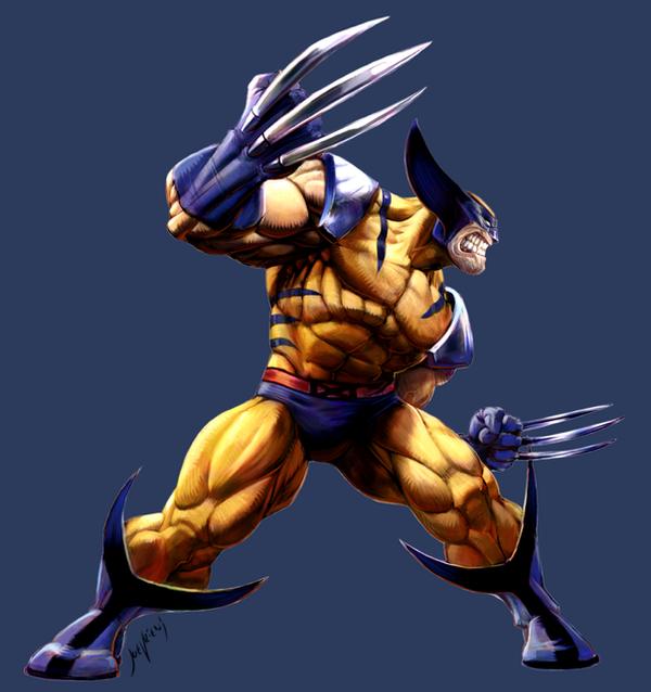 MvC2 Wolverine by joverine