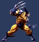 MvC2 Wolverine