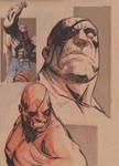 Sagat sketches