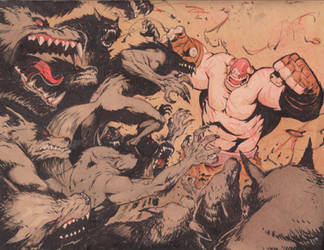 Werewolves attack by joverine