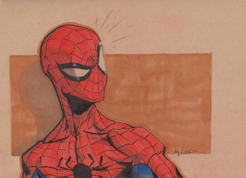 Spiderman Headsketch