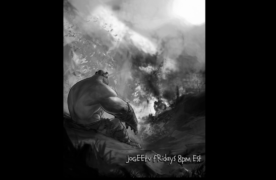 JoGeeTV ep207 Balto painting by joverine