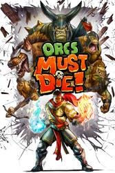 Orcs Must Die pinup