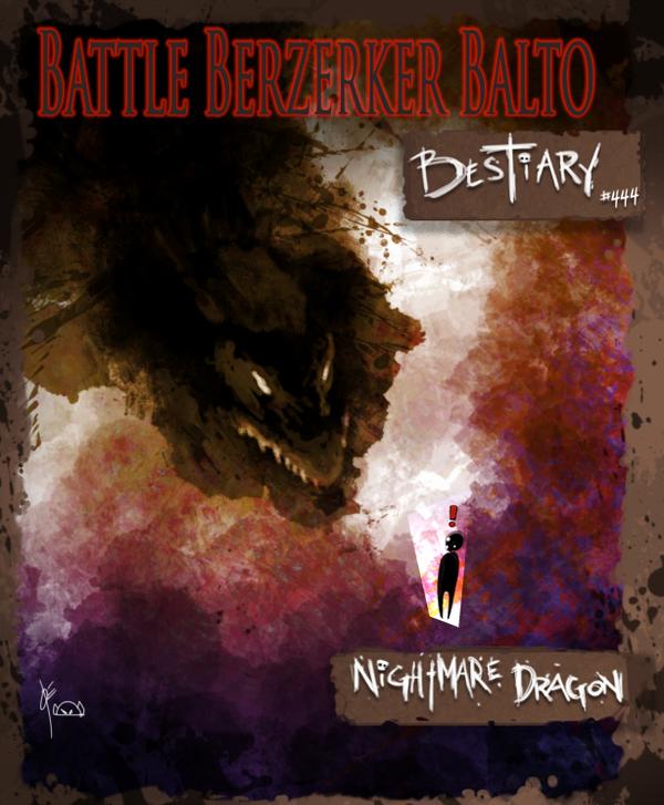 BBBB 444 Nightmare Dragon By Joverine On DeviantArt