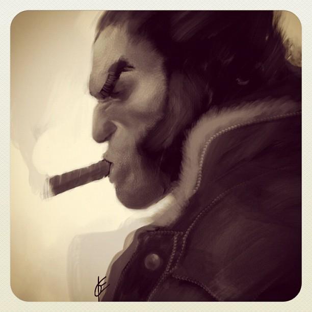 Wolverine iPad portrait